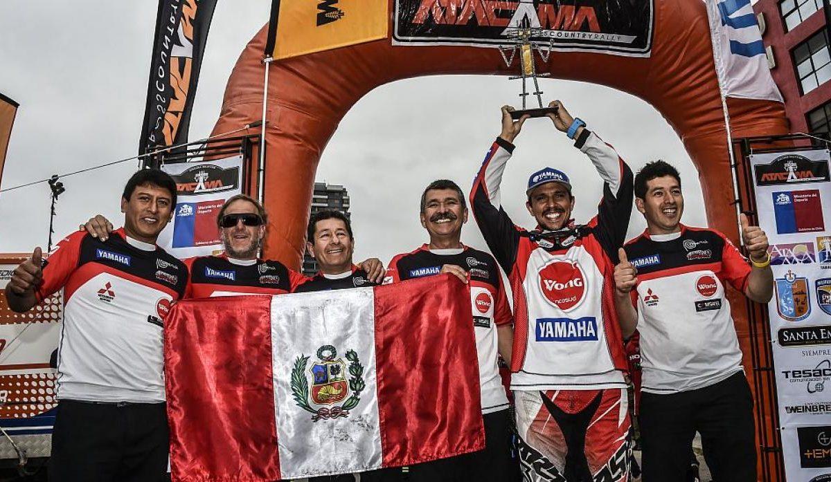 Podio para Perú en el Mundial: Alexis Hernández se llevó el 3er puesto del Atacama Rally en Chile