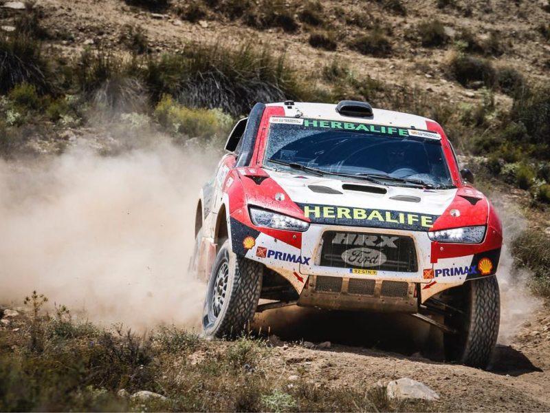 Nicolás Fuchs escala posiciones en el Mundial de Rally Cross Country y ya se ubica en el puesto 12 de la Baja Aragón