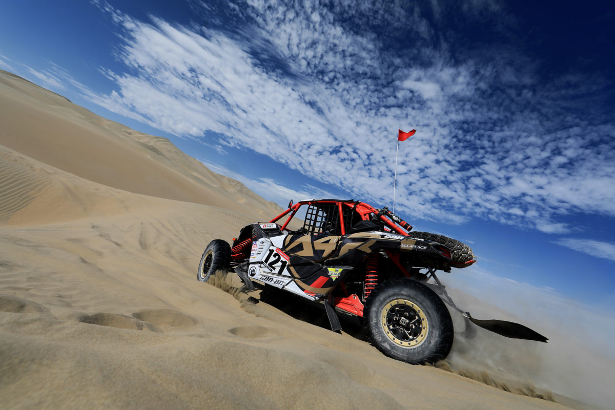 Dakar Challenge Baja Inka éxito en casa y en familia