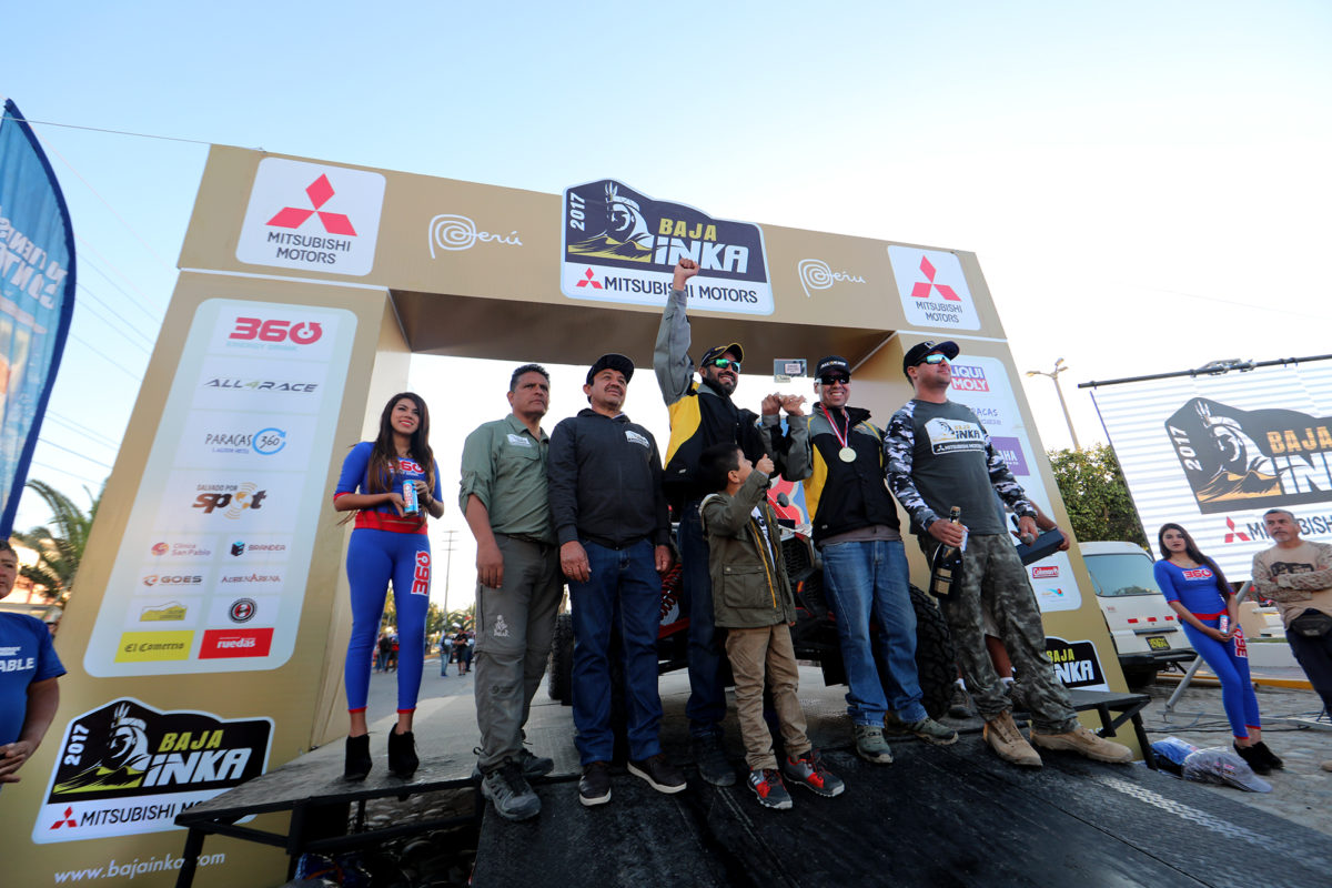 Uribe, Goncalves, Cavigliasso, Gutiérrez y Huidobro son los grandes vencedores de la Baja Inka Mitsubishi Motors Paracas 1000