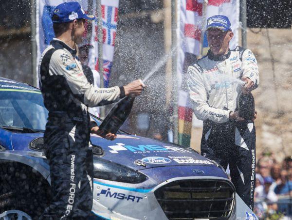 WRC Rally Italia: primera victoria del estonio Ott Tänak