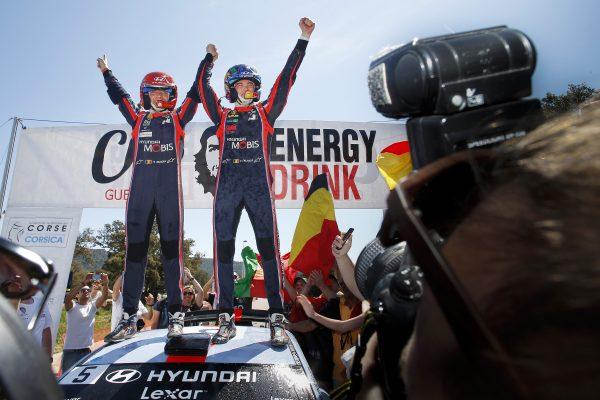Hyundai logra su primera victoria de 2017 y doble podio