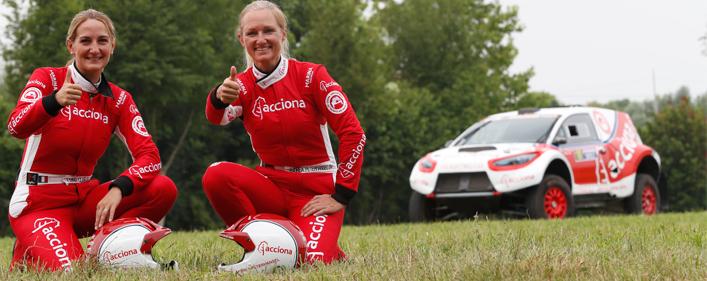 Nuevo éxito del Acciona 100% EcoPowered en su primer rally europeo