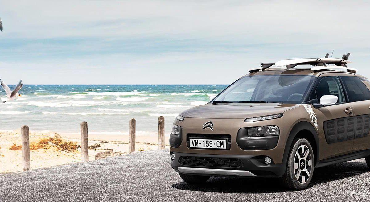 Citroën lanzó nueva versión automática del C4 Cactus