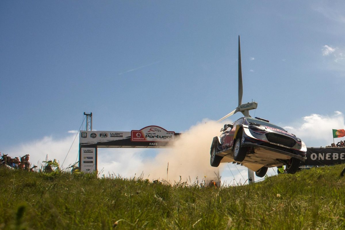 WRC: El francés Sebastien Ogier gana en Portugal con Ford y M-Sport