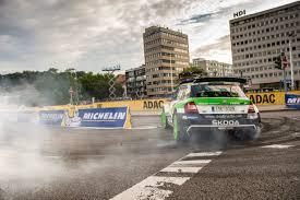 #WRC Rally de Alemania, SS1: Kopecky en un Skoda Fabia R5 de WRC2 va ganando en la clasificación general
