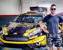 Nico Fuchs en el Transchaco Rally de Paraguay 2017