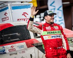 Nicolás Fuchs sorprende en la Baja Polonia y se impone ante los mejores pilotos del Mundial de Rally Cross Country