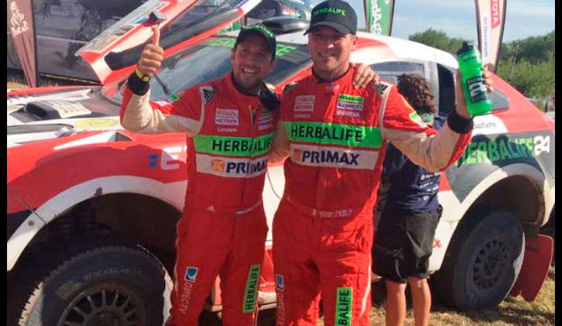 Nicolás Fuchs hace historia en el Dakar 2017