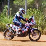 #Dakar2017 #CarloVellutino se consolida entre los 100 mejores en motos