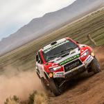 Gran llegada de Nicolás Fuchs a Bolivia tras superar la cuarta etapa del Rally Dakar en el puesto 17