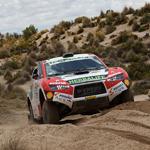 Nicolás Fuchs logra la mejor etapa para un piloto peruano en autos en la historia del Rally Dakar