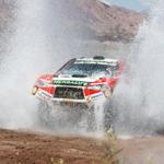 Nicolás Fuchs logró histórica etapa para un piloto peruano en autos ocupando el 8vo puesto del día en el Rally Dakar