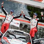 Rallye de Montecarlo: Un debut con podio, Latvala y Toyota Gazoo Racing segundos en el Rally de Monte-Carlo.