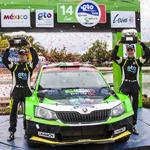 Gran podio para Guerra en Rally Guanajuato México