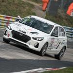 Hyundai Motor prueba el i30 N en la competencia de Nürburgring en Alemania