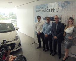 Hyundai Perú presentó nuevo modelo y grato resultados de la marca