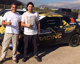 El piloto peruano Kurt Zoeger correrá en el campeonato chileno de rally