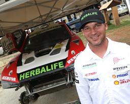 Nicolás Fuchs va a Espańa para disputar por primera vez el Campeonato Mundial de Rally Cross Country en la Baja Aragón