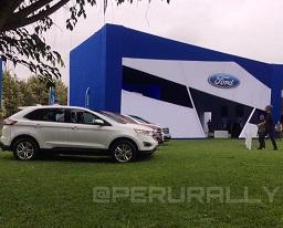 Ford lanza en el Perú New Ford Edge: una SUV con tecnología y estilo superior diseńada para que nada te detenga