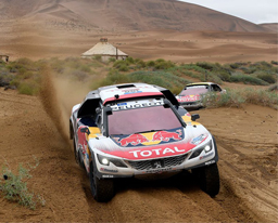 Team Peugeot Total lideró SilkWay Rally 2017