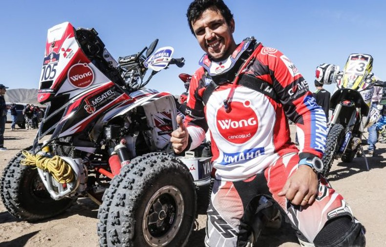 Gran inicio en el Mundial: 2do puesto para Alexis Hernández en la primera etapa del Atacama Rally en Chile