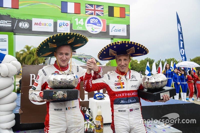 Kris Meeke y Citroën sobreviven al drama de último momento para comenzar el desafío del WRC con una victoria en el Rally México