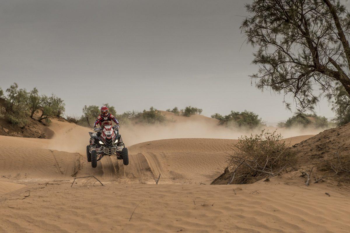 Gran etapa para Alexis Hernández en el Mundial de Rally Cross Country: 2do puesto en el cuarto día del Rally de Marruecos