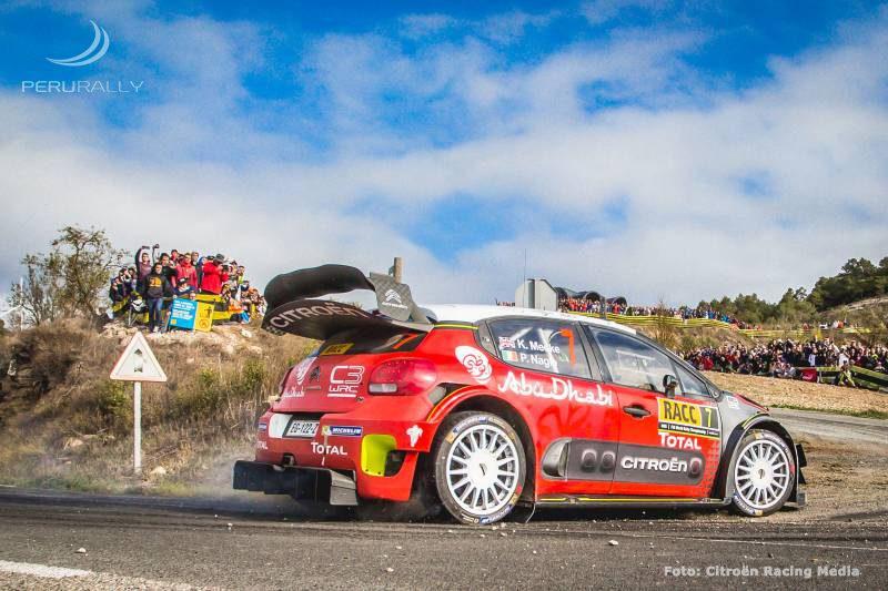 53 RallyRACC, día 3: Kris Meeke/Paul Nagle (Citroën) se estrenan en España