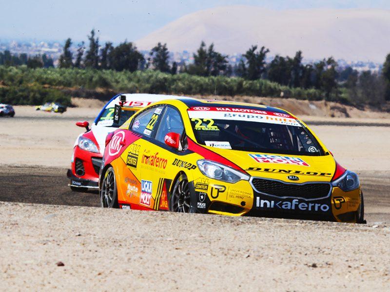 Juan Carlos Tassara y Mike Gonzalez del Team Kia Racing por la victoria en Los 200 Kilómetros de Lima este sábado 14