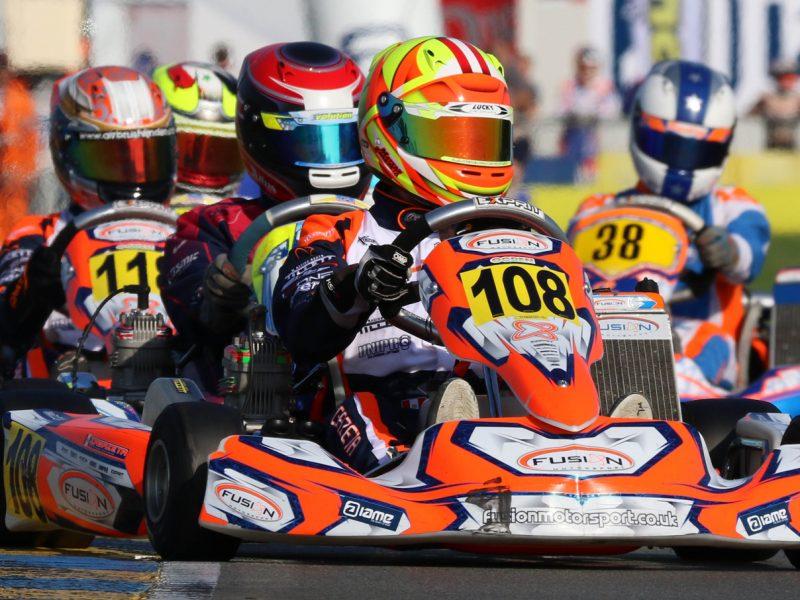 Kartista Matías Zagazeta se ubicó en el top 20 del Mundial IAME en Le Mans representando al Perú
