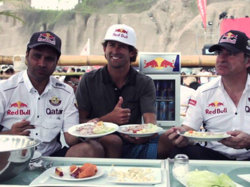 El Dakar 2018 con la gastronomía peruana