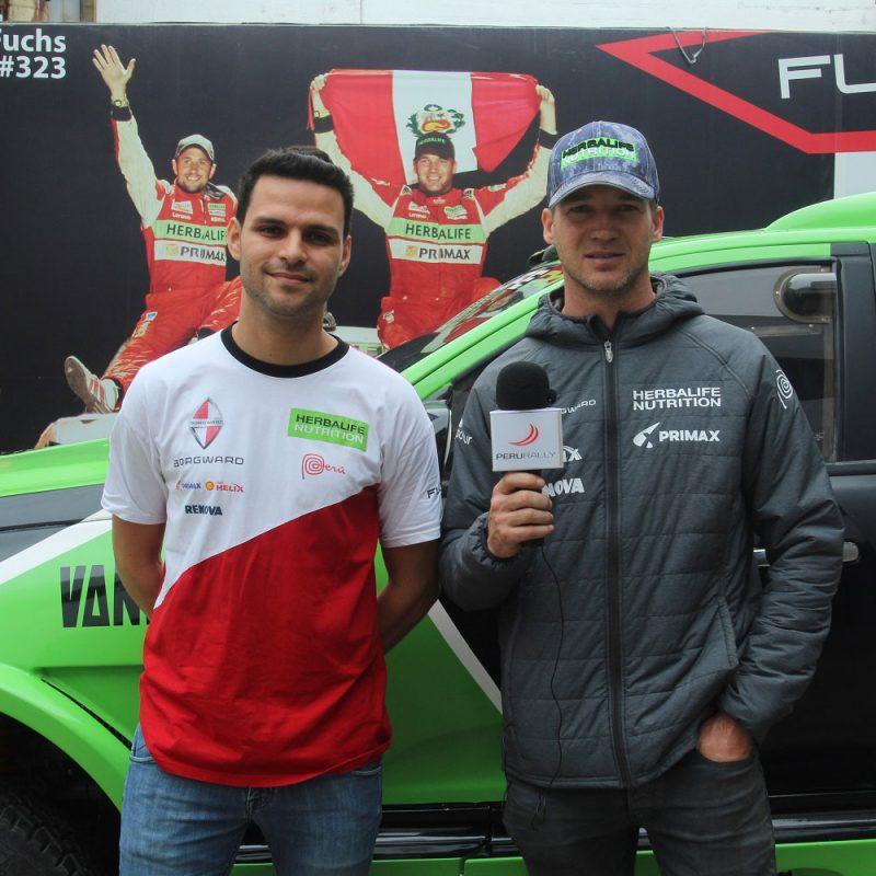 Nicol U00e1s Fuchs Presenta Su Camioneta Para El Desaf U00edo Inca